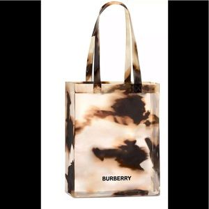 Burberry Clear Tote Bag